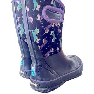 Bogs boots girls size 1 unicorn 🦄